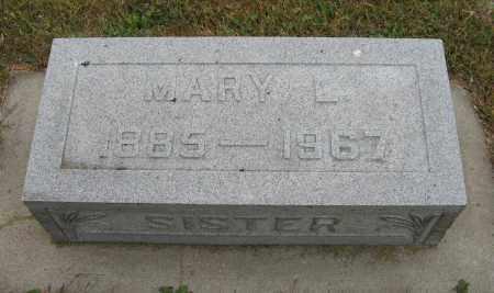 JOHNSON, MARY L. - Knox County, Nebraska | MARY L. JOHNSON - Nebraska Gravestone Photos