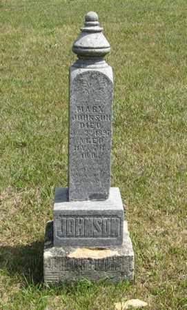 JOHNSON, MARY - Knox County, Nebraska | MARY JOHNSON - Nebraska Gravestone Photos