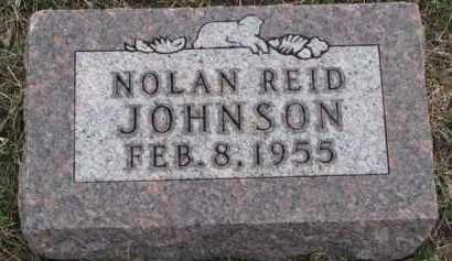 JOHNSON, NOLAN REID - Knox County, Nebraska | NOLAN REID JOHNSON - Nebraska Gravestone Photos