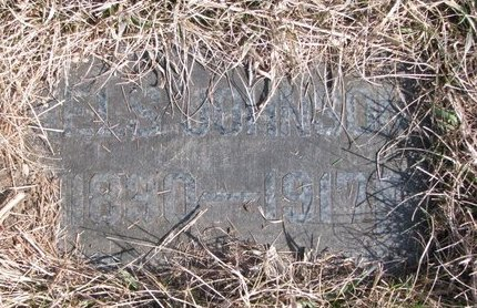 JOHNSON, NELS (FOOTSTONE) - Knox County, Nebraska | NELS (FOOTSTONE) JOHNSON - Nebraska Gravestone Photos
