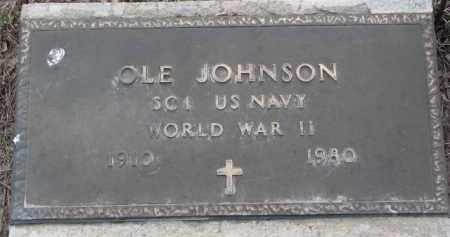 JOHNSON, OLE (WW II) - Knox County, Nebraska | OLE (WW II) JOHNSON - Nebraska Gravestone Photos