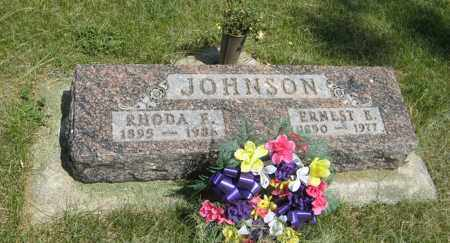 JOHNSON, RHODA E. - Knox County, Nebraska | RHODA E. JOHNSON - Nebraska Gravestone Photos