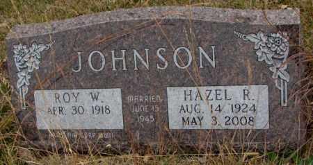 JOHNSON, ROY W. - Knox County, Nebraska | ROY W. JOHNSON - Nebraska Gravestone Photos