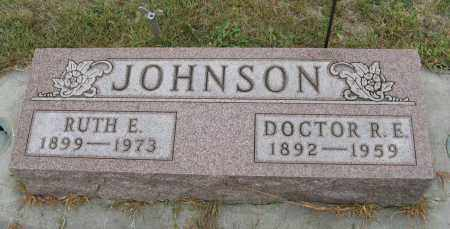 JOHNSON, R. E. DR. - Knox County, Nebraska | R. E. DR. JOHNSON - Nebraska Gravestone Photos