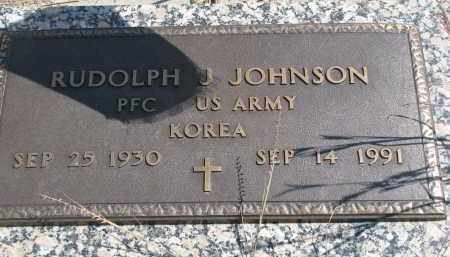 JOHNSON, RUDOLPH J. - Knox County, Nebraska | RUDOLPH J. JOHNSON - Nebraska Gravestone Photos
