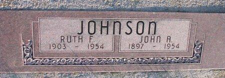 JOHNSON, RUTH F. - Knox County, Nebraska | RUTH F. JOHNSON - Nebraska Gravestone Photos