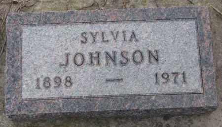 JOHNSON, SYLVIA - Knox County, Nebraska | SYLVIA JOHNSON - Nebraska Gravestone Photos