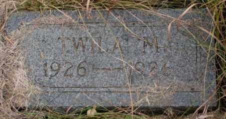 JOHNSON, TWILA M. - Knox County, Nebraska | TWILA M. JOHNSON - Nebraska Gravestone Photos