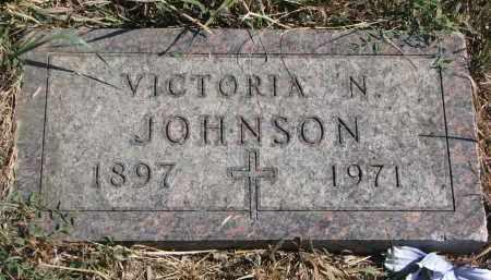 JOHNSON, VICTORIA N. - Knox County, Nebraska | VICTORIA N. JOHNSON - Nebraska Gravestone Photos