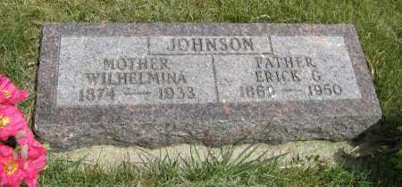 JOHNSON, ERICK G. - Knox County, Nebraska | ERICK G. JOHNSON - Nebraska Gravestone Photos