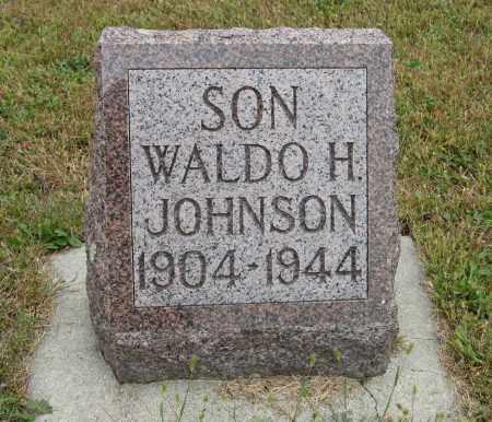 JOHNSON, WALDO H. - Knox County, Nebraska   WALDO H. JOHNSON - Nebraska Gravestone Photos