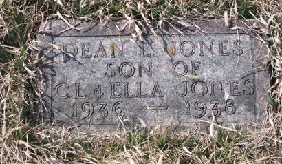 JONES, DEAN L. - Knox County, Nebraska | DEAN L. JONES - Nebraska Gravestone Photos