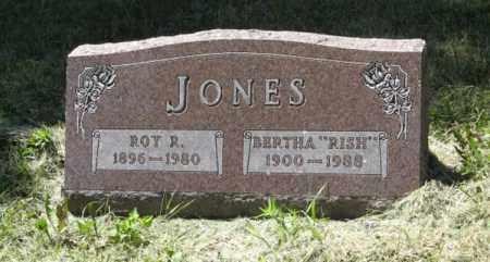 JONES, BERTHA - Knox County, Nebraska | BERTHA JONES - Nebraska Gravestone Photos
