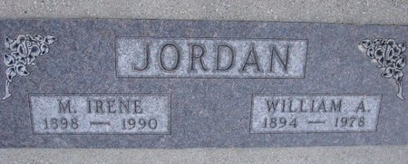 JORDAN, WILLIAM A. - Knox County, Nebraska | WILLIAM A. JORDAN - Nebraska Gravestone Photos