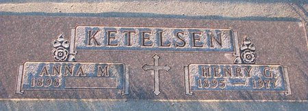KETELSEN, ANNA MARIA EMMA - Knox County, Nebraska | ANNA MARIA EMMA KETELSEN - Nebraska Gravestone Photos