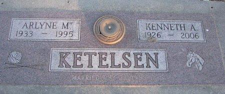 KETELSEN, KENNETH A. - Knox County, Nebraska | KENNETH A. KETELSEN - Nebraska Gravestone Photos