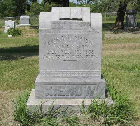 KIENOW, CHARLEY H. - Knox County, Nebraska | CHARLEY H. KIENOW - Nebraska Gravestone Photos