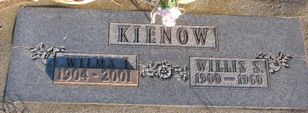 KIENOW, WILLIS S. - Knox County, Nebraska | WILLIS S. KIENOW - Nebraska Gravestone Photos