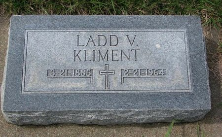 KLIMENT, LADD V. - Knox County, Nebraska | LADD V. KLIMENT - Nebraska Gravestone Photos