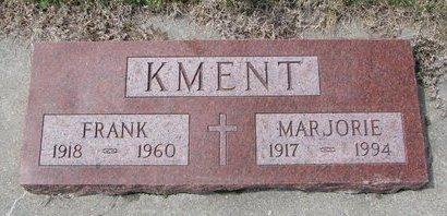 KMENT, FRANK - Knox County, Nebraska | FRANK KMENT - Nebraska Gravestone Photos