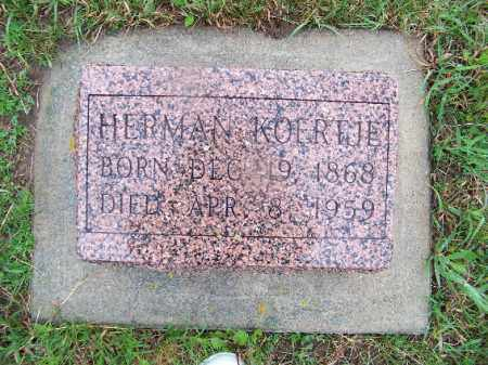 KOERTJE, HERMAN - Knox County, Nebraska | HERMAN KOERTJE - Nebraska Gravestone Photos