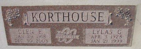 KORTHOUSE, LYLAS G. - Knox County, Nebraska | LYLAS G. KORTHOUSE - Nebraska Gravestone Photos