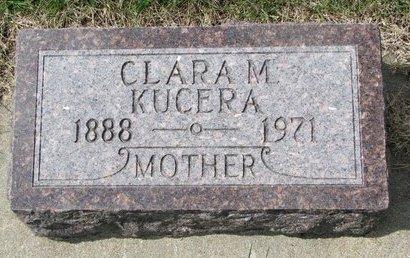 STOURAL KUCERA, CLARA MADELINE - Knox County, Nebraska | CLARA MADELINE STOURAL KUCERA - Nebraska Gravestone Photos