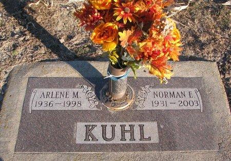 KUHL, ARLENE M. - Knox County, Nebraska | ARLENE M. KUHL - Nebraska Gravestone Photos