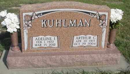 KUHLMAN, ADELINE I. - Knox County, Nebraska | ADELINE I. KUHLMAN - Nebraska Gravestone Photos