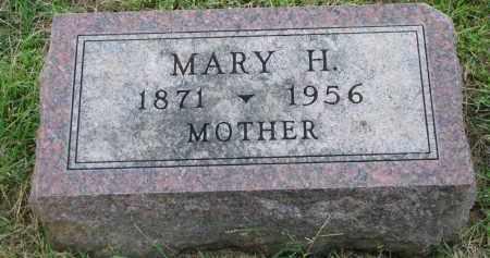 KUHLMAN, MARY H. - Knox County, Nebraska | MARY H. KUHLMAN - Nebraska Gravestone Photos