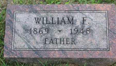 KUHLMAN, WILLIAM F. - Knox County, Nebraska | WILLIAM F. KUHLMAN - Nebraska Gravestone Photos