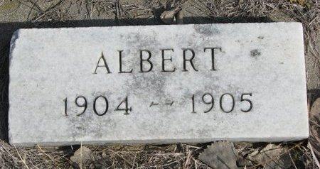 KUMM, ALBERT - Knox County, Nebraska | ALBERT KUMM - Nebraska Gravestone Photos