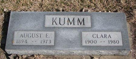 KUMM, CLARA - Knox County, Nebraska | CLARA KUMM - Nebraska Gravestone Photos
