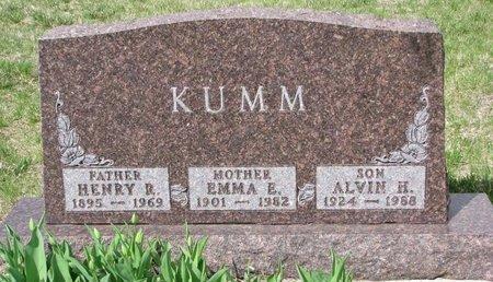 KUMM, EMMA E. - Knox County, Nebraska   EMMA E. KUMM - Nebraska Gravestone Photos