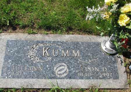 KUMM, JULIANN - Knox County, Nebraska   JULIANN KUMM - Nebraska Gravestone Photos