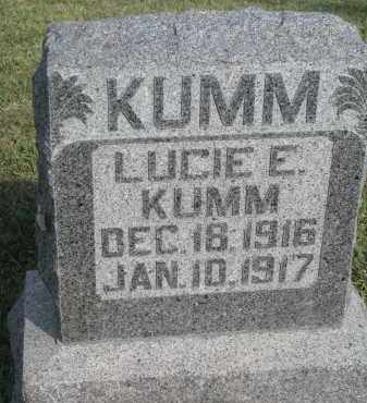 KUMM, LUCIE E. - Knox County, Nebraska | LUCIE E. KUMM - Nebraska Gravestone Photos