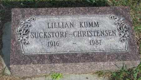 KUMM, LILLIAN - Knox County, Nebraska | LILLIAN KUMM - Nebraska Gravestone Photos