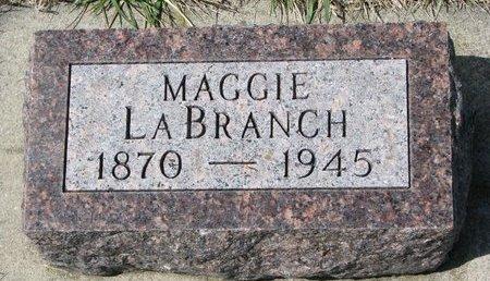 LABRANCH, MAGGIE - Knox County, Nebraska   MAGGIE LABRANCH - Nebraska Gravestone Photos