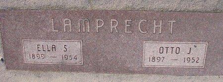 LAMPRECHT, ELLA S. - Knox County, Nebraska | ELLA S. LAMPRECHT - Nebraska Gravestone Photos