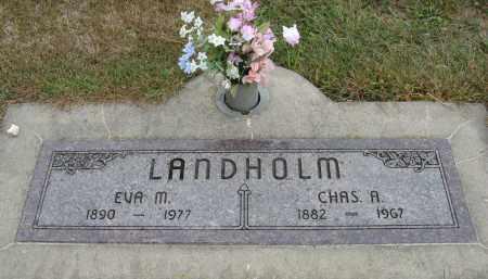 LANDHOLM, CHAS. A. - Knox County, Nebraska | CHAS. A. LANDHOLM - Nebraska Gravestone Photos