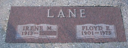 LANE, FLOYD E. - Knox County, Nebraska | FLOYD E. LANE - Nebraska Gravestone Photos