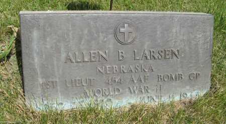 LARSEN, ALLEN B. - Knox County, Nebraska | ALLEN B. LARSEN - Nebraska Gravestone Photos