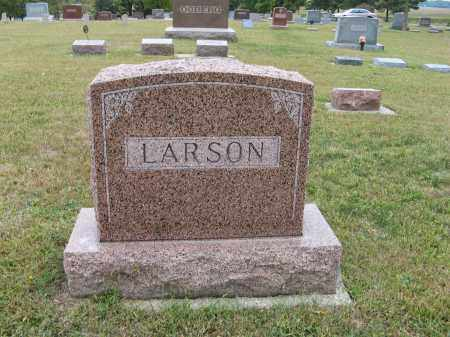 LARSON, (FAMILY MONUMENT) - Knox County, Nebraska | (FAMILY MONUMENT) LARSON - Nebraska Gravestone Photos