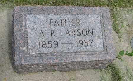 LARSON, A. P. - Knox County, Nebraska | A. P. LARSON - Nebraska Gravestone Photos