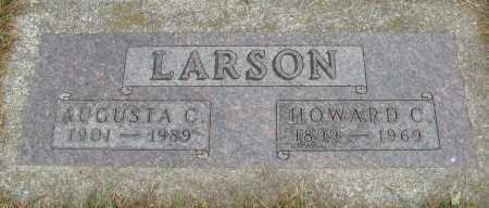 LARSON, AUGUSTA C. - Knox County, Nebraska | AUGUSTA C. LARSON - Nebraska Gravestone Photos