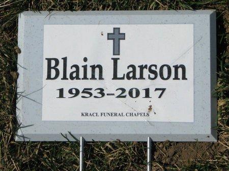 LARSON, BLAIN - Knox County, Nebraska | BLAIN LARSON - Nebraska Gravestone Photos