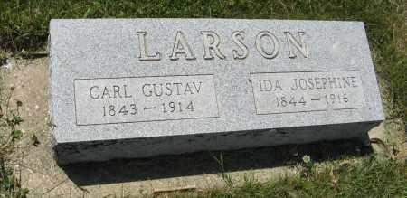 LARSON, CARL GUSTAV - Knox County, Nebraska   CARL GUSTAV LARSON - Nebraska Gravestone Photos