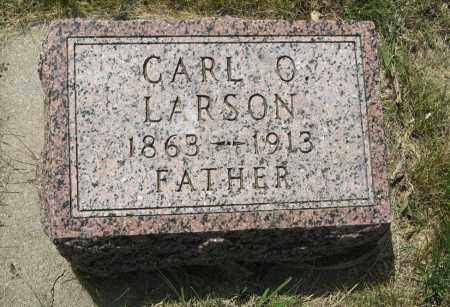 LARSON, CARL O. - Knox County, Nebraska | CARL O. LARSON - Nebraska Gravestone Photos