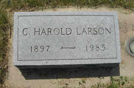 LARSON, C. HAROLD - Knox County, Nebraska | C. HAROLD LARSON - Nebraska Gravestone Photos