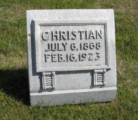 LARSON, CHRISTIAN - Knox County, Nebraska | CHRISTIAN LARSON - Nebraska Gravestone Photos